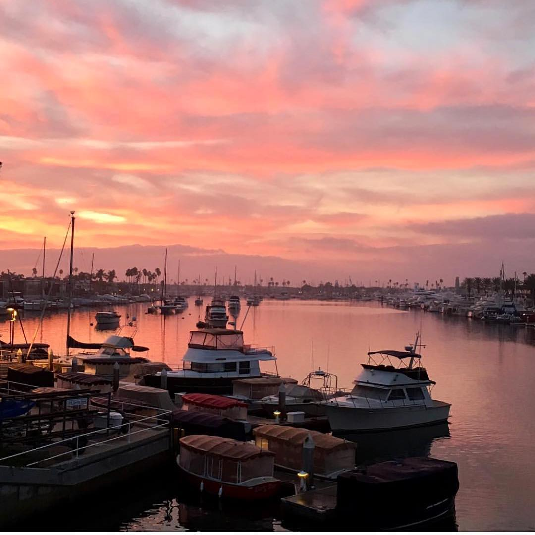 newport-beach-harbor-sunset